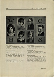 Page 9, 1928 Edition, Wayne High School - Nuntius Yearbook (Wayne, WV) online yearbook collection