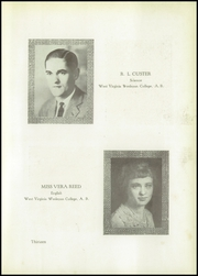 Page 17, 1927 Edition, Clay High School - Tiskelwah Yearbook (Clay, WV) online yearbook collection