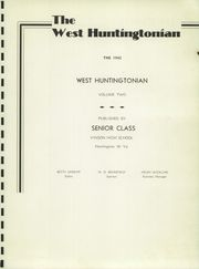 Page 5, 1942 Edition, Vinson High School - Vinsonian Yearbook (Huntington, WV) online yearbook collection