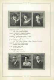 Page 16, 1921 Edition, Fairmont High School - Maple Leaves Yearbook (Fairmont, WV) online yearbook collection