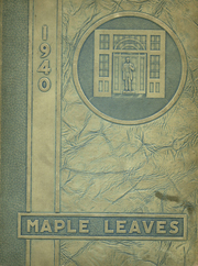 Fairmont High School - Maple Leaves Yearbook (Fairmont, WV) online yearbook collection, 1940 Edition, Page 1