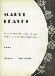 Page 7, 1940 Edition, Fairmont High School - Maple Leaves Yearbook (Fairmont, WV) online yearbook collection