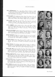 Page 16, 1945 Edition, Fairmont High School - Maple Leaves Yearbook (Fairmont, WV) online yearbook collection