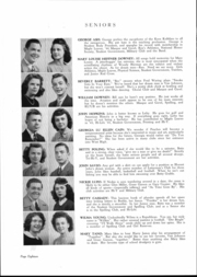 Page 17, 1945 Edition, Fairmont High School - Maple Leaves Yearbook (Fairmont, WV) online yearbook collection