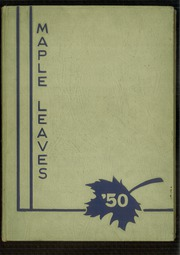 Page 1, 1950 Edition, Fairmont High School - Maple Leaves Yearbook (Fairmont, WV) online yearbook collection
