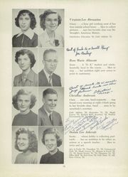 Page 17, 1952 Edition, Fairmont High School - Maple Leaves Yearbook (Fairmont, WV) online yearbook collection
