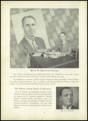 Page 10, 1953 Edition, Fairmont High School - Maple Leaves Yearbook (Fairmont, WV) online yearbook collection