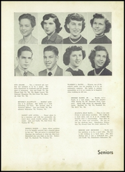 Page 15, 1953 Edition, Fairmont High School - Maple Leaves Yearbook (Fairmont, WV) online yearbook collection