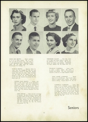 Page 17, 1953 Edition, Fairmont High School - Maple Leaves Yearbook (Fairmont, WV) online yearbook collection