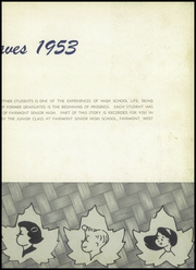 Page 7, 1953 Edition, Fairmont High School - Maple Leaves Yearbook (Fairmont, WV) online yearbook collection