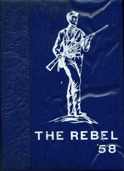 Page 1, 1958 Edition, Mullens High School - Rebel Yearbook (Mullens, WV) online yearbook collection