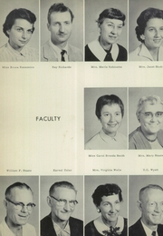 Page 10, 1958 Edition, Mullens High School - Rebel Yearbook (Mullens, WV) online yearbook collection