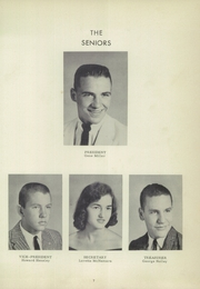Page 11, 1958 Edition, Mullens High School - Rebel Yearbook (Mullens, WV) online yearbook collection