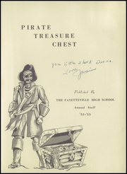 Page 5, 1953 Edition, Fayetteville High School - Pirates Treasure Chest Yearbook (Fayetteville, WV) online yearbook collection