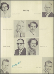 Page 9, 1953 Edition, Fayetteville High School - Pirates Treasure Chest Yearbook (Fayetteville, WV) online yearbook collection