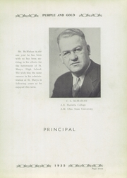 Page 11, 1935 Edition, St Marys High School - Purple and Gold Yearbook (St Marys, WV) online yearbook collection