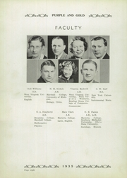 Page 12, 1935 Edition, St Marys High School - Purple and Gold Yearbook (St Marys, WV) online yearbook collection