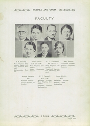 Page 13, 1935 Edition, St Marys High School - Purple and Gold Yearbook (St Marys, WV) online yearbook collection