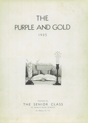 Page 7, 1935 Edition, St Marys High School - Purple and Gold Yearbook (St Marys, WV) online yearbook collection