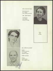Page 11, 1958 Edition, Williamstown High School - Wilhishan Yearbook (Williamstown, WV) online yearbook collection
