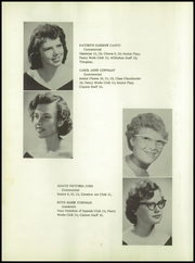 Page 14, 1958 Edition, Williamstown High School - Wilhishan Yearbook (Williamstown, WV) online yearbook collection