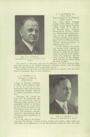 Page 15, 1926 Edition, Wheeling High School - Record Yearbook (Wheeling, WV) online yearbook collection