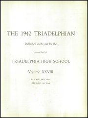Page 7, 1942 Edition, Triadelphia High School - Triadelphian Yearbook (Wheeling, WV) online yearbook collection