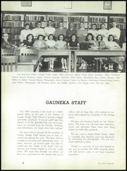 Page 12, 1950 Edition, Gauley Bridge High School - Gauneka Yearbook (Gauley Bridge, WV) online yearbook collection