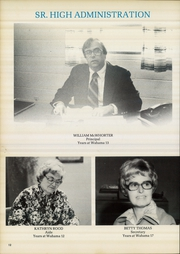 Page 16, 1980 Edition, Wahama High School - Wahaman Yearbook (Mason, WV) online yearbook collection