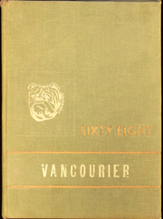 1968 Edition, Van High School - Vancourier Yearbook (Van, WV)