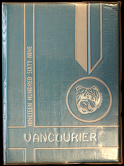 1969 Edition, Van High School - Vancourier Yearbook (Van, WV)