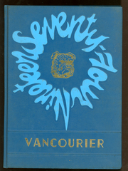 1974 Edition, Van High School - Vancourier Yearbook (Van, WV)