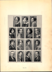 Page 9, 1930 Edition, Roosevelt Wilson High School - Echo Yearbook (Clarksburg, WV) online yearbook collection