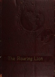 Page 1, 1949 Edition, Gilbert High School - Roaring Lion Yearbook (Gilbert, WV) online yearbook collection