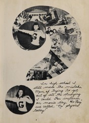 Page 7, 1949 Edition, Gilbert High School - Roaring Lion Yearbook (Gilbert, WV) online yearbook collection