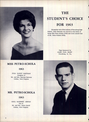 Page 10, 1963 Edition, Petersburg High School - Petro Schola Yearbook (Petersburg, WV) online yearbook collection