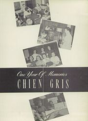 Page 5, 1957 Edition, Montgomery High School - Chien Gris Yearbook (Montgomery, WV) online yearbook collection