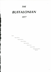 Page 5, 1977 Edition, Buffalo High School - Buffalonian Yearbook (Buffalo, WV) online yearbook collection