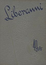 1949 Edition, Clay Battelle High School - Liberanni Yearbook (Blacksville, WV)