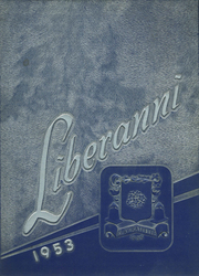 1953 Edition, Clay Battelle High School - Liberanni Yearbook (Blacksville, WV)
