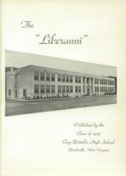 Page 5, 1953 Edition, Clay Battelle High School - Liberanni Yearbook (Blacksville, WV) online yearbook collection