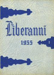 1955 Edition, Clay Battelle High School - Liberanni Yearbook (Blacksville, WV)