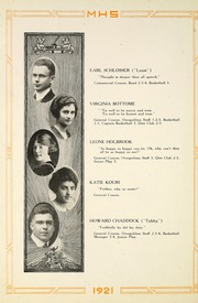Page 18, 1921 Edition, Moundsville High School - Orospolitan Yearbook (Moundsville, WV) online yearbook collection