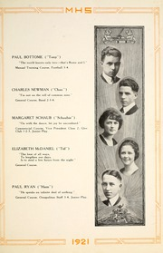 Page 19, 1921 Edition, Moundsville High School - Orospolitan Yearbook (Moundsville, WV) online yearbook collection