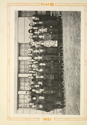 Moundsville High School - Orospolitan Yearbook (Moundsville, WV) online yearbook collection, 1921 Edition, Page 42