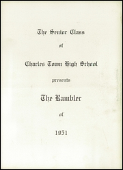 Page 7, 1951 Edition, Charles Town High School - Rambler Yearbook (Charles Town, WV) online yearbook collection