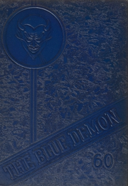 1960 Edition, Northfork Elkhorn High School - Blue Demon Yearbook (Northfork, WV)