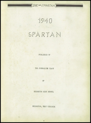 Page 7, 1940 Edition, Shinnston High School - Spartan Yearbook (Shinnston, WV) online yearbook collection