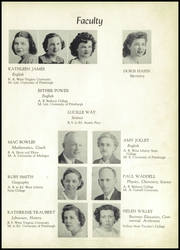 Page 9, 1948 Edition, Follansbee High School - Forge Yearbook (Follansbee, WV) online yearbook collection