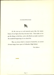 Page 5, 1952 Edition, Follansbee High School - Forge Yearbook (Follansbee, WV) online yearbook collection